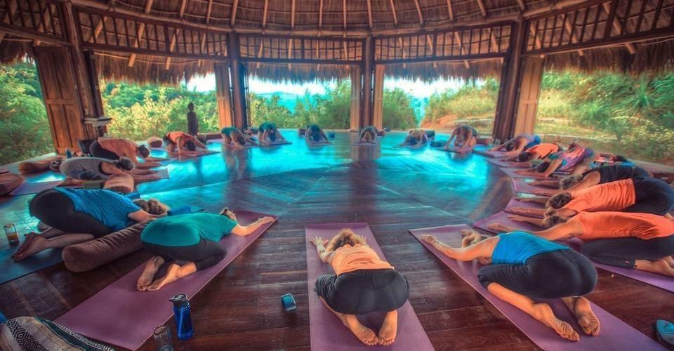 yoga at haramara resort